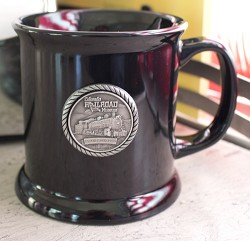 Colorado Railroad Museum Black Coffee Mug,722