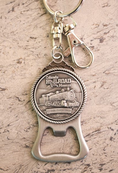 Colorado Railroad Museum Bottle Opener Key Chain,711