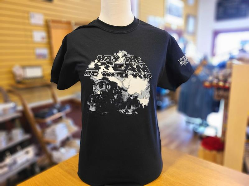 May the Steam Be With You- Tee Shirt
