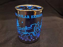 Polar Express Lighted LED Cylinder Tabletop Decor,SL160005