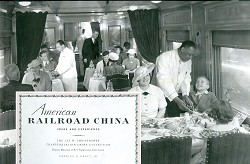 American Railroad China - Image and Experience