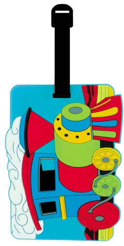 Train Luggage Tag