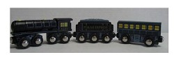Lionel 3 Piece Polar Express Wooden Train,7-11900