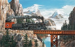 Summit Pass-550 Piece Puzzle