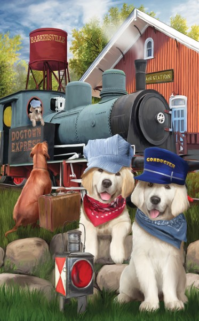 Dogtown Express-300 Piece Puzzle,28611