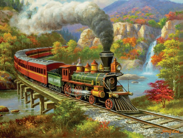 Fall River-500 Piece Puzzle,36652