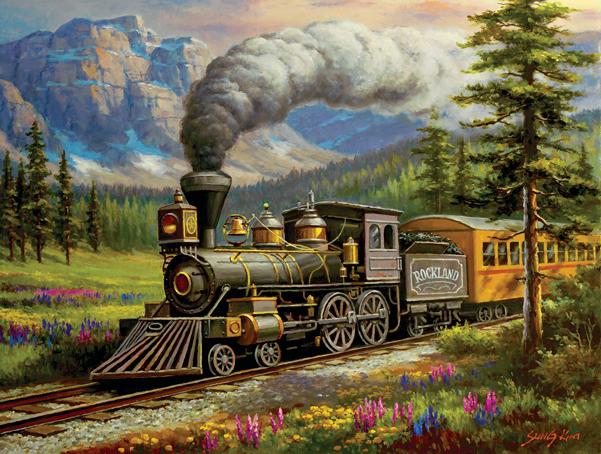 Rockland Express-500 Piece Puzzle,36630