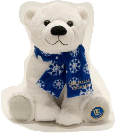 Polar Express Polar Bear Snowflake Scarf,PEX005