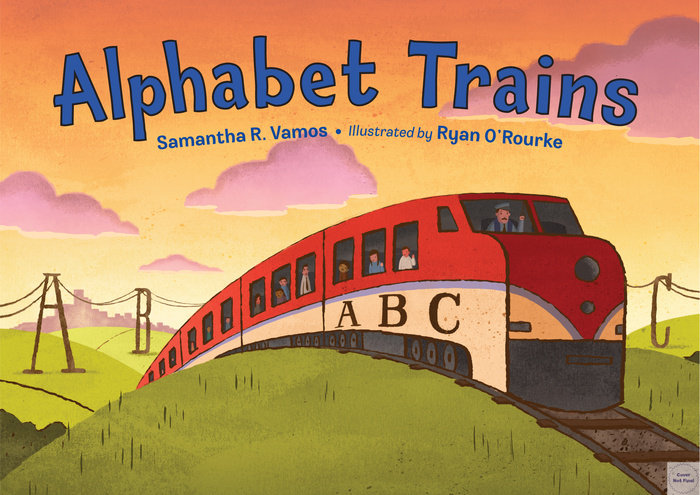 Alphabet Trains,9781580895927