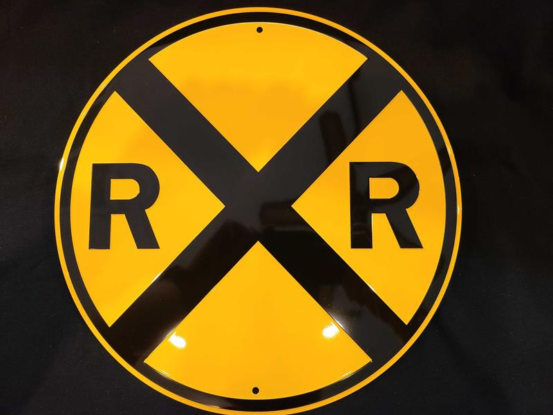 Railroad Crossing Sign,03/8803