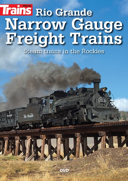 Trains- Rio Grande Narrow Gauge Freight Trains,15344
