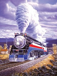 Steel Patriot - 500 Piece Jigsaw Puzzle