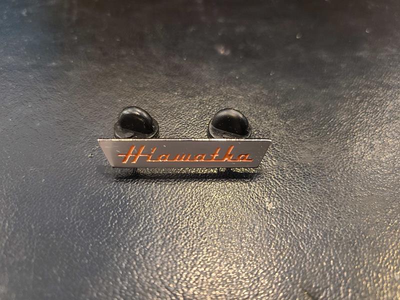 Hiawatha Pin,HIAW