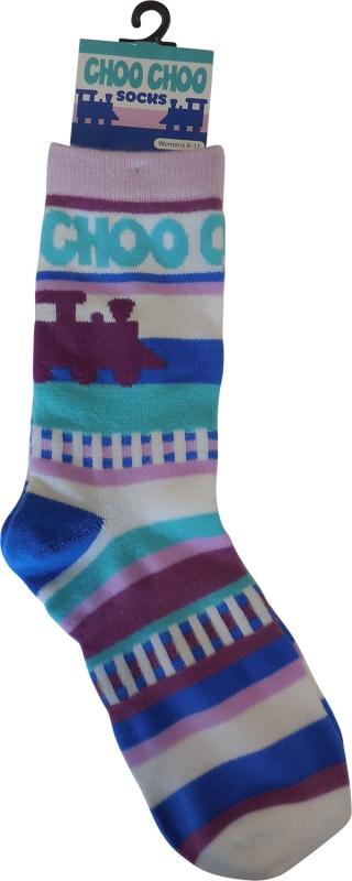 Adult Train Socks,03/9064