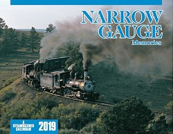 2019 Calendar -Narrow Gauge