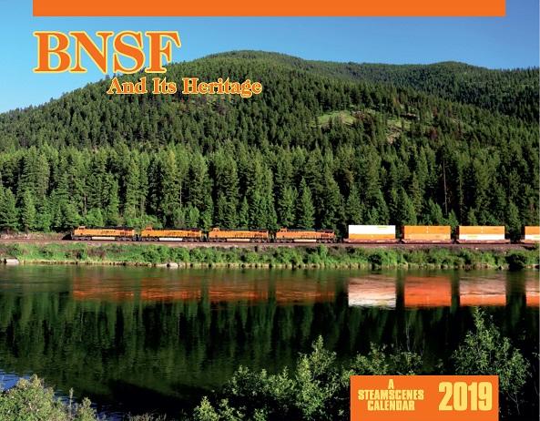 2019 Calendar -BNSF