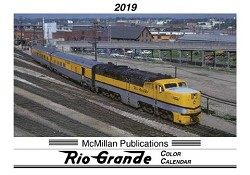 2019 Calendar - McMillan Publications Rio Grande Color