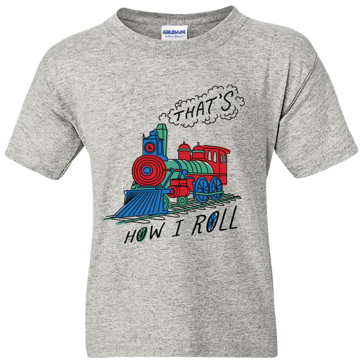 That's How I Roll Toddler & Youth Tee Shirt,03/906T3