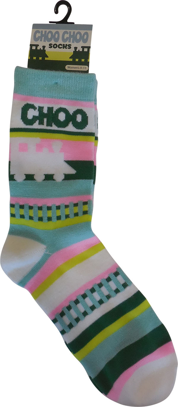Adult Train Socks,03/9066