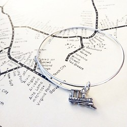 Steam Bangle Bracelet