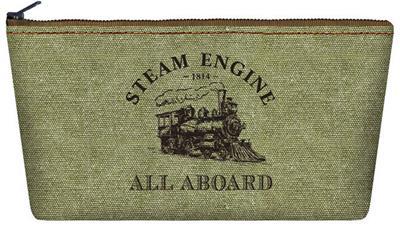Steam Train Makeup/Pencil Bag