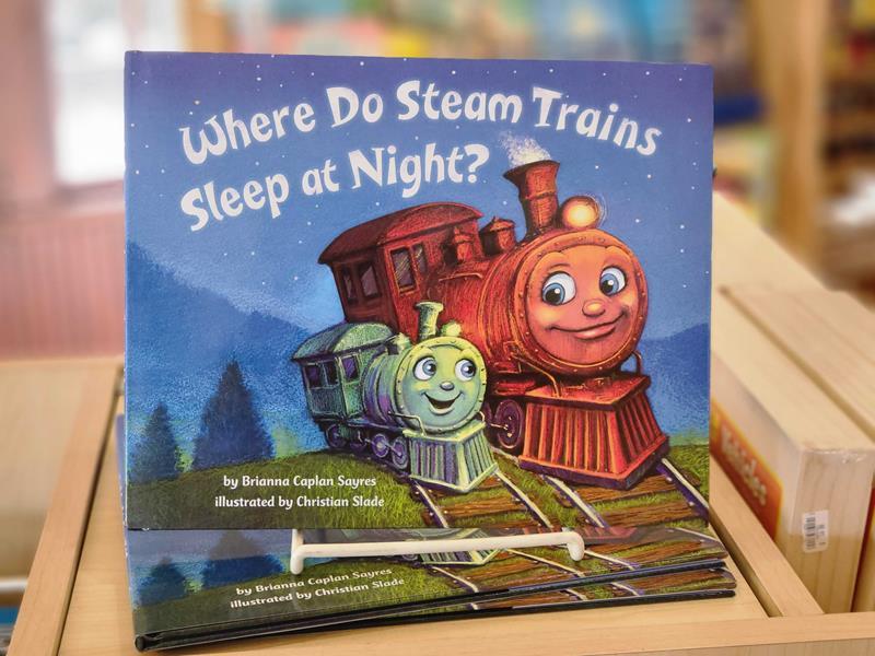 Where Do Steam Trains Sleep at Night?,9780553521009