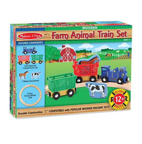 Farm Animal Train Set,644