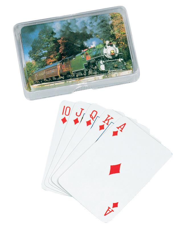 Steam Engine Playing Cards,03/4904