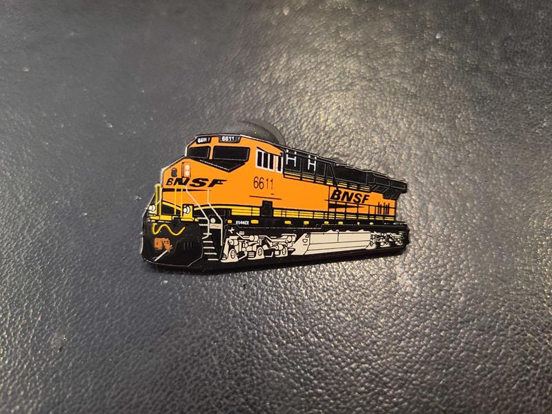 Burlington Northern #6611 Pin,BNES