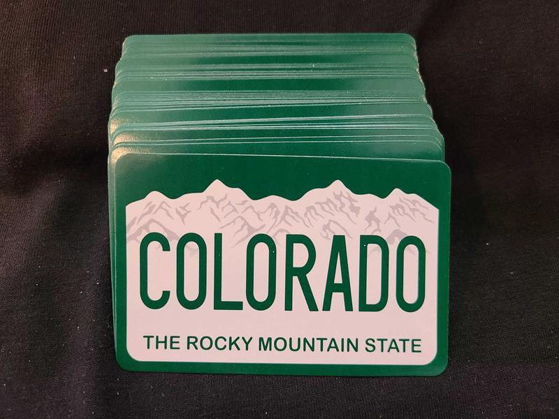 Colorado Playing Cards