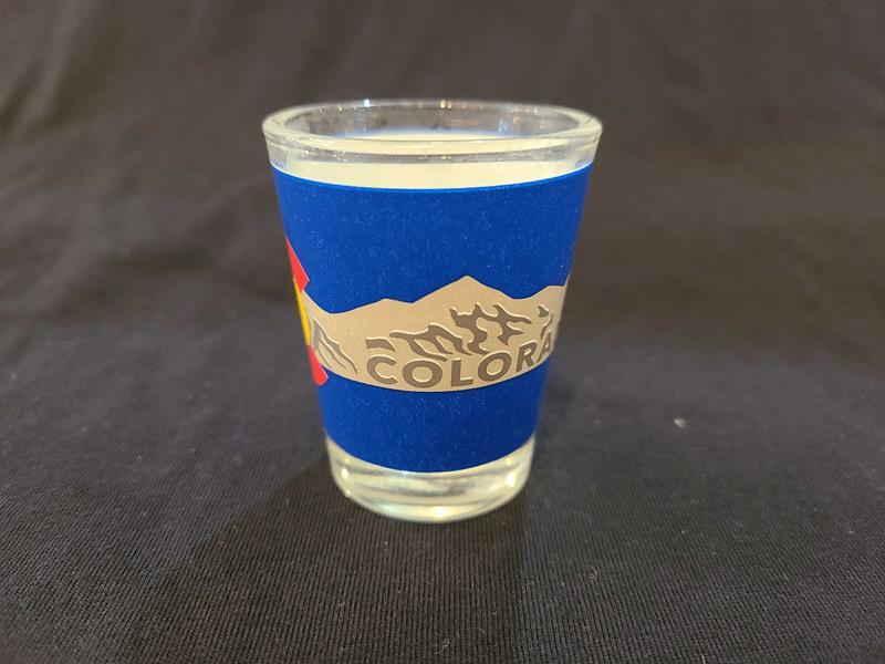 Colorado Clear Shot Glass,50585-07