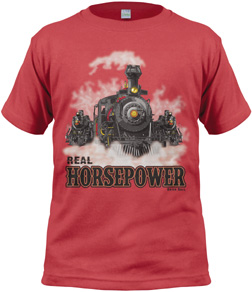 Real Horsepower Youth T-shirt M,1KW-RHPM