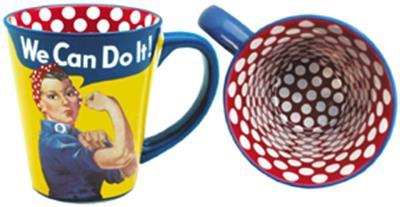 Rosie the Riverter Mug,RR-MUG