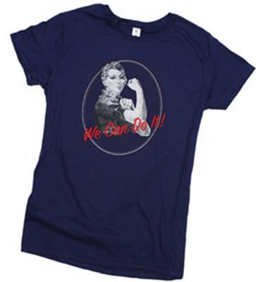 Rosie the Riverter Shirt,RR-BTSS