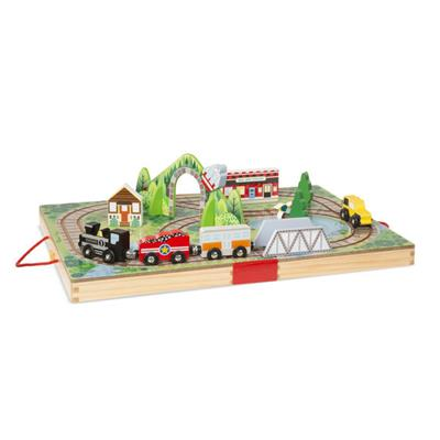 Melissa & Doug Take-Along Railroad,703