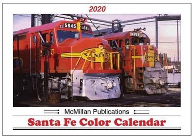 2020 Calendar -McMillan Publications Santa Fe