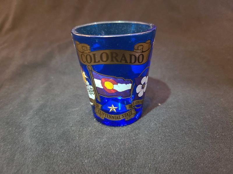 Colorado Icons Shot Glass,GWSG158