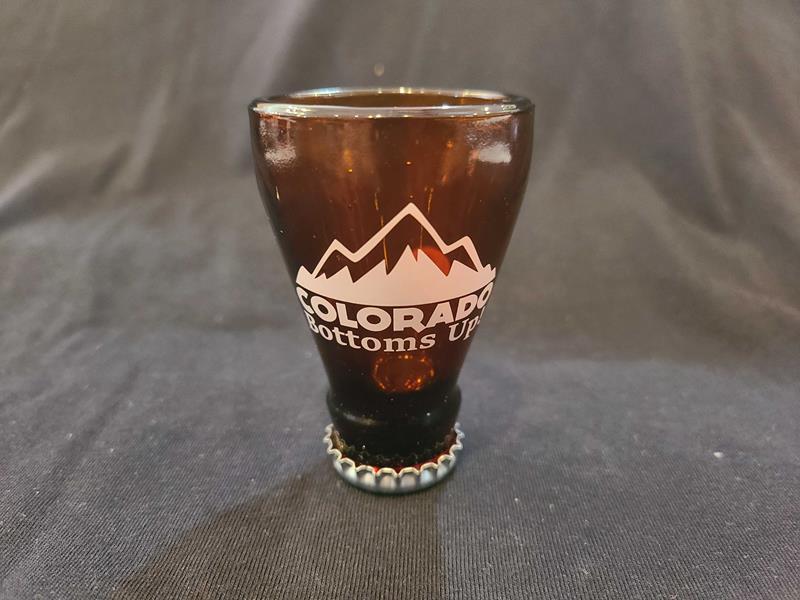 Colorado Bottoms Up Shot Glass,GWSG201